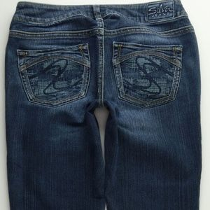 Silver Jeans Aiko BootCut 27 Womens Low Rise C367P
